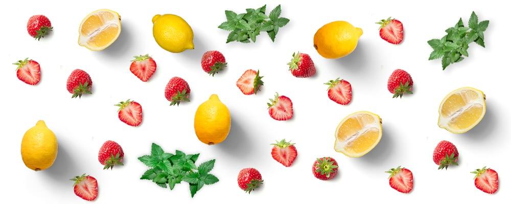 DIY Lemonberry mint kombucha