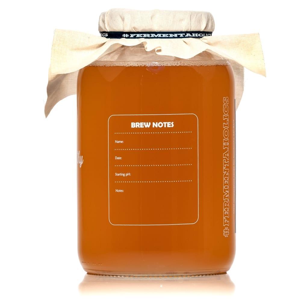 Gallon of Kombucha Fermenting