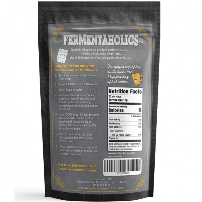 Organic Kombucha Tea Blend