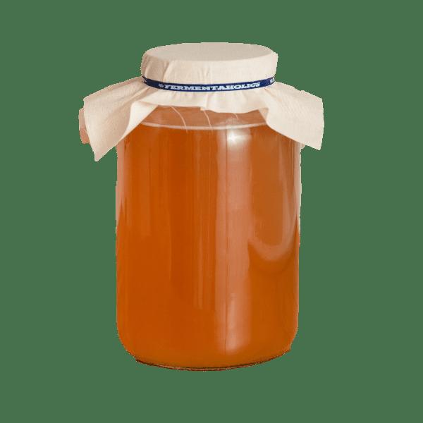 kombucha jar background removed