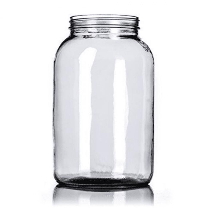 Empty 1 Gallon Glass Jar