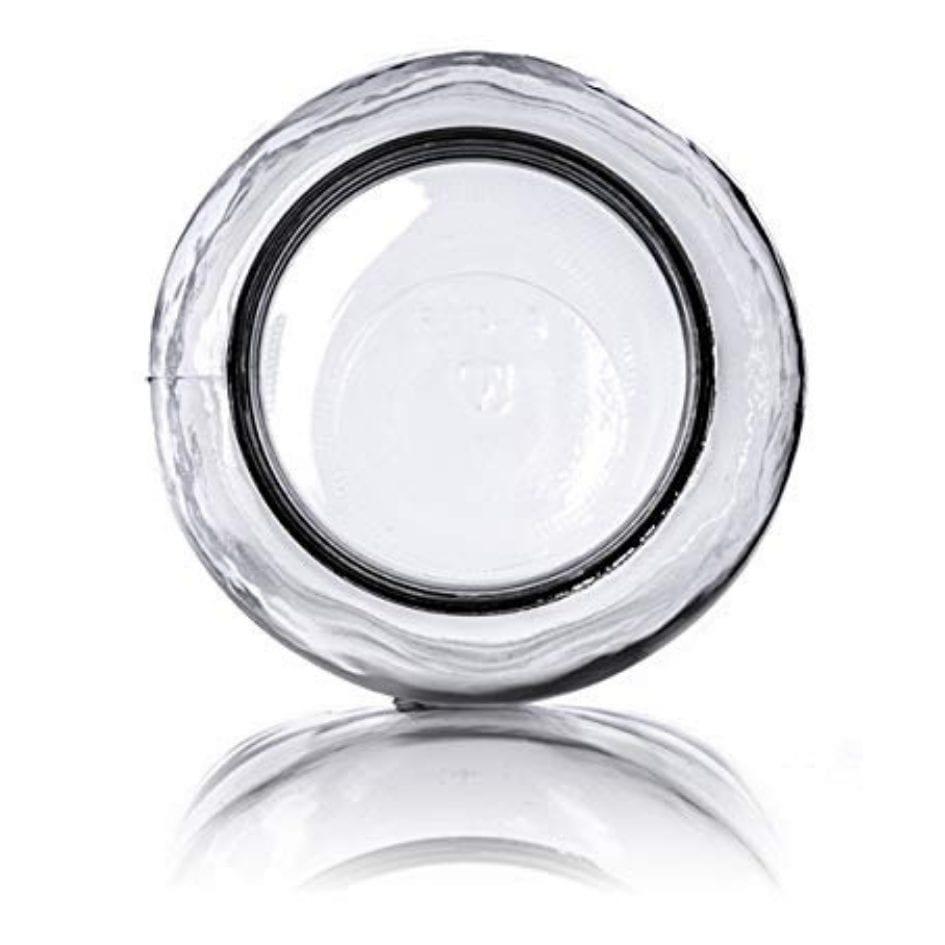Gallon Glass Jar Overhead Shot