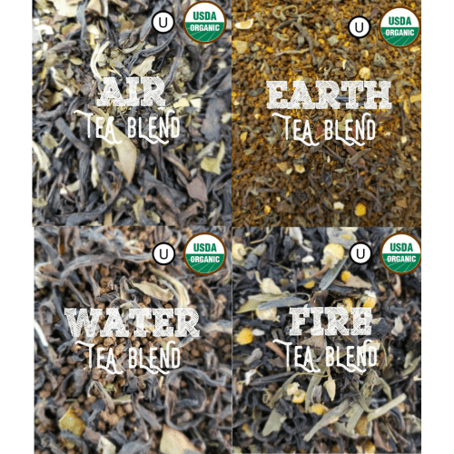 Organic Kombucha Tea Blends Sampler Pack