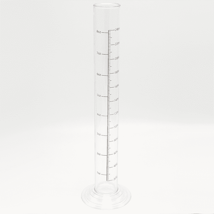 Hydrometer Jar Gravity Testing Tube