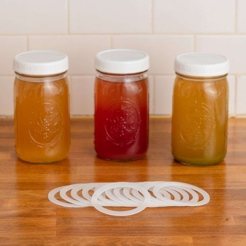 Silicon Washers For Airtight Mason Jars