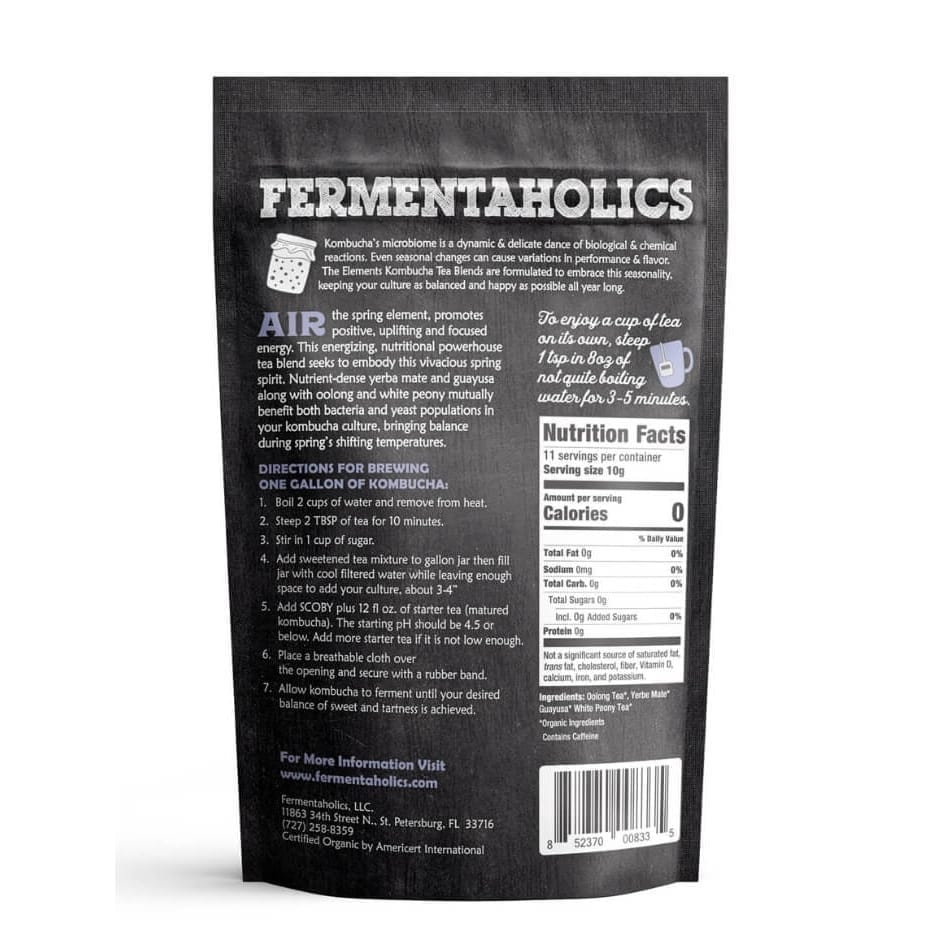 Organic Kombucha Loose Leaf Herbal Tea Blend
