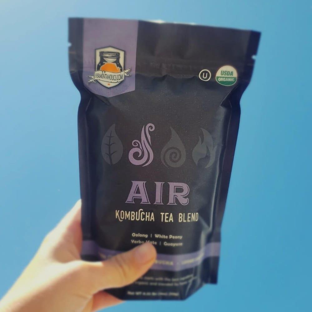 Fermentaholics Organic Kombucha Air Loose Leaf Tea Blend