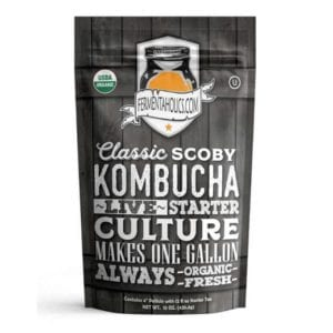Fermentaholics Classic Scoby Kombucha Live Starter Culture