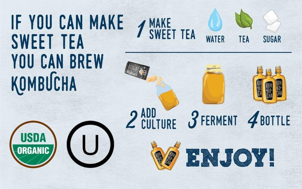 How to make homemade kombucha?