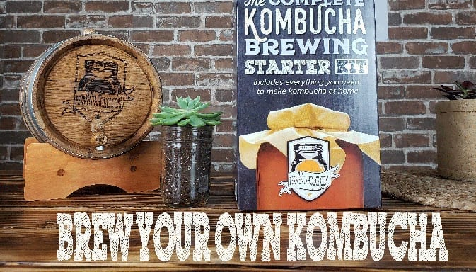 Brew Your Own Kombucha