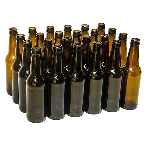 Case of 24 - 12 oz Brown Beer Bottles - 8