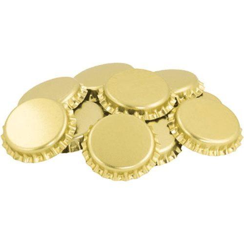 Gold Oxygen Absorbing Bottle Caps