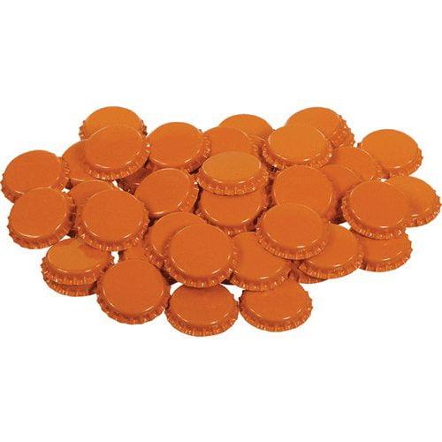 Orange Oxygen Absorbing Bottle Caps