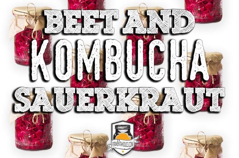 Beet and Kombucha Sauerkraut Recipe