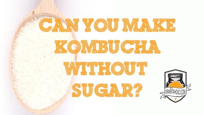 Can Kombucha be Made Without Sugar?