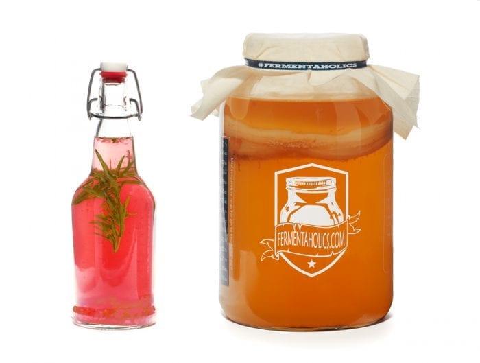 Rosemary Orange Rosehips Kombucha Recipe