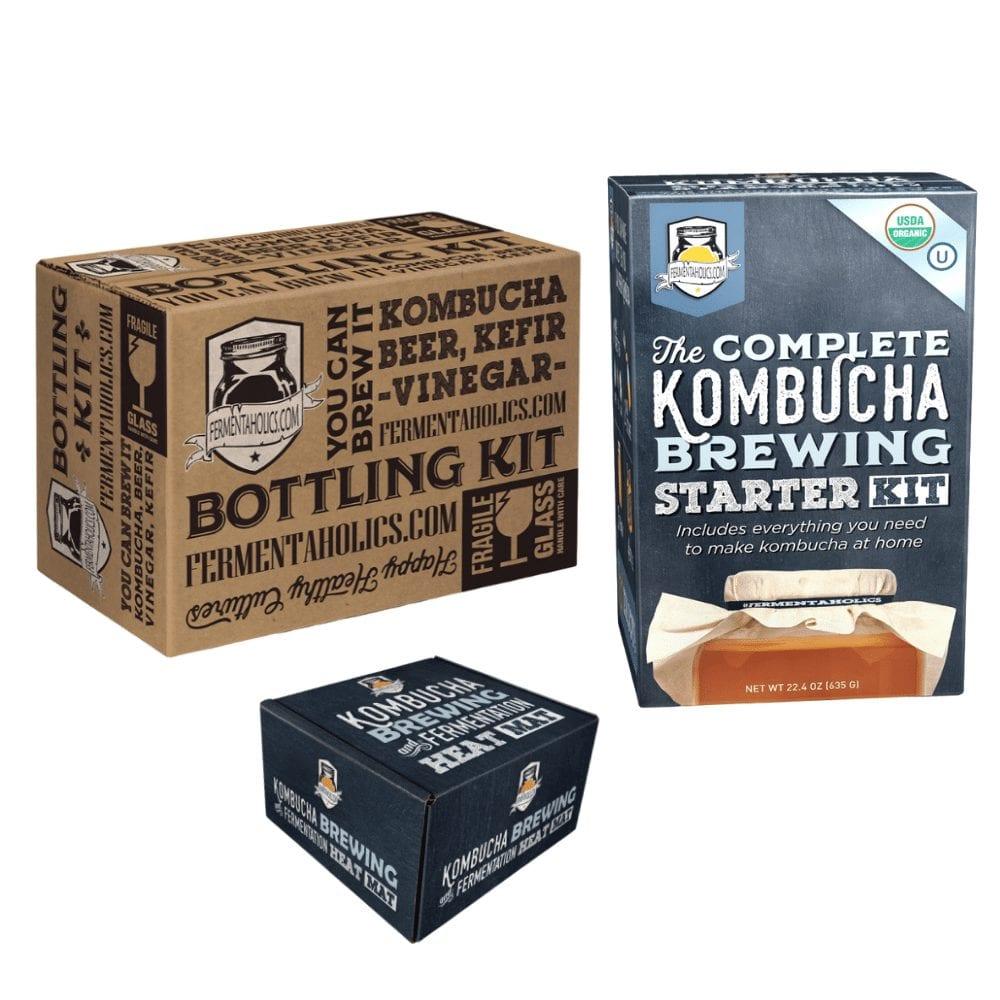 Bottling Kit Kombucha Brewing Kit Heat Wrap