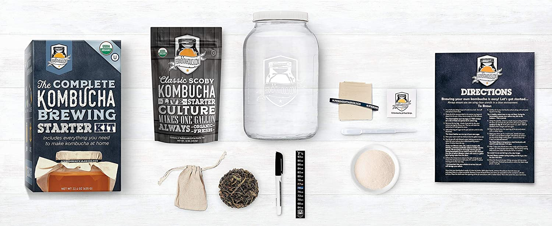 The Deluxe Kombucha Brewing Kit