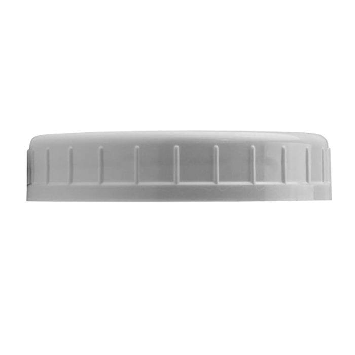 86mm Plastic Wide Mouth Mason Jar Lid White Fermenter