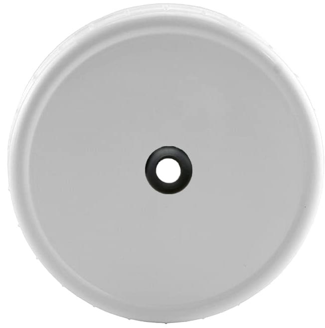 Drilled Plastic Wide Mouth Mason Jar Lid For All Standard Size Airlocks