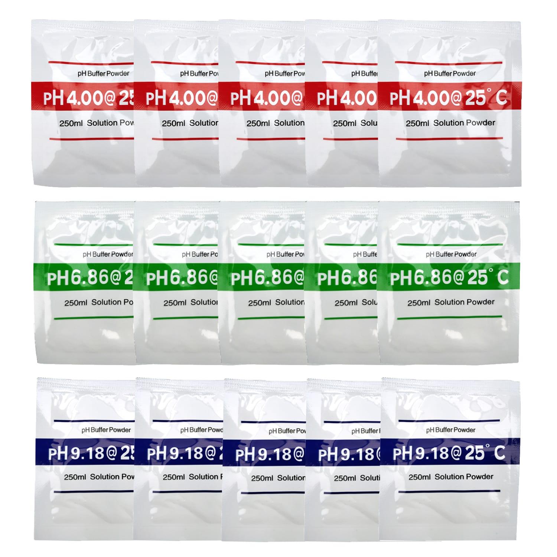 Digital pH testing meter Buffer Powder Calibration Solution test