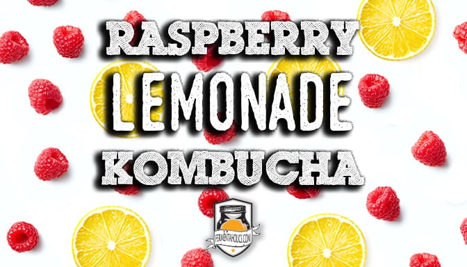 Raspberry Lemonade Kombucha Recipe