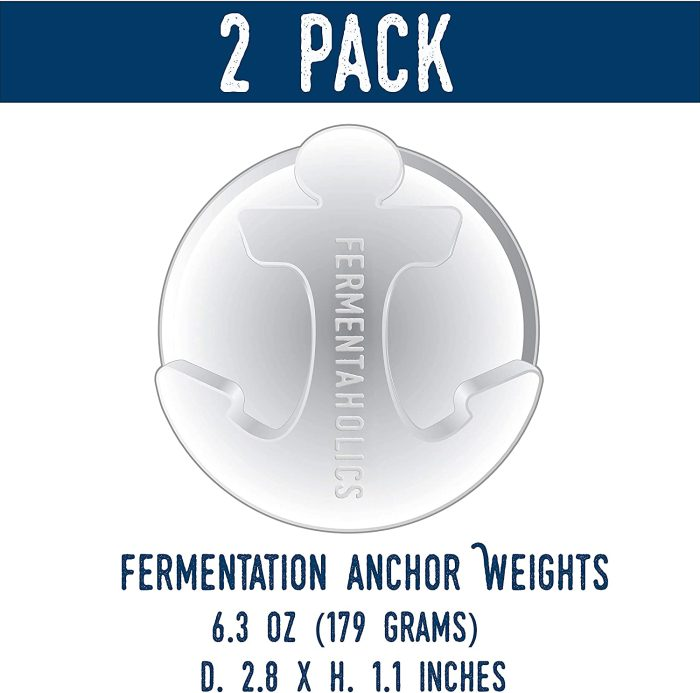 2 pack glass anchor weights