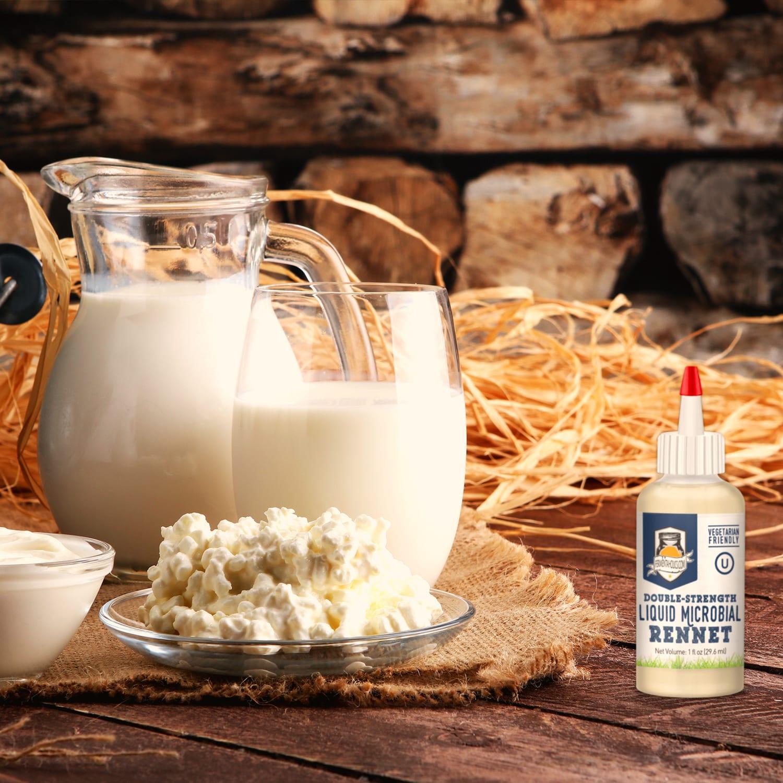 Rennet milk