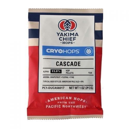 CRYO HOPS® CASCADE PELLETS 1 OZ