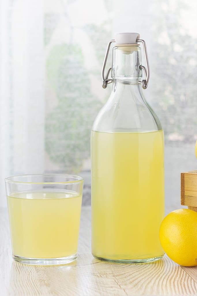 water kefir lemonade