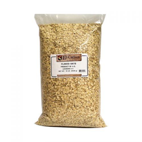 flaked oats 10lb
