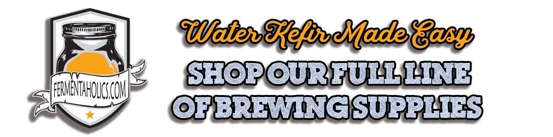 water kefir banner