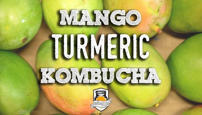 mango turmeric kombucha recipe