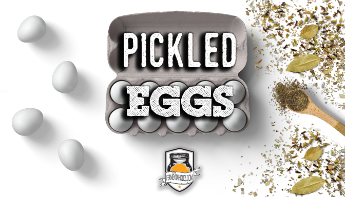 Pickled Eggs at home