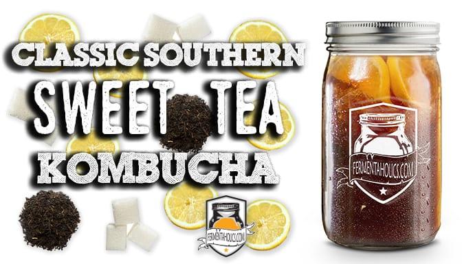 Sweet Tea Kombucha recipe
