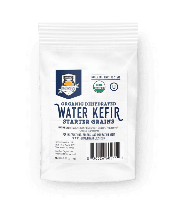 dehydrated water kefir grains
