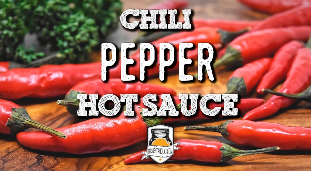 How to make chili pepper hot sauce
