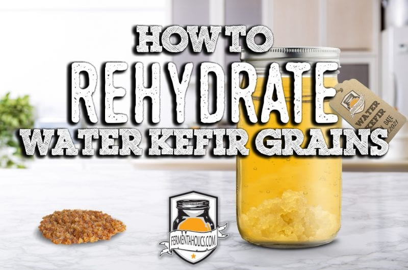 Rehydrating Water Kefir Grains Recipe