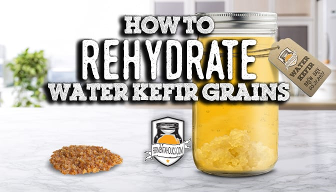 How to rehydrate water kefir