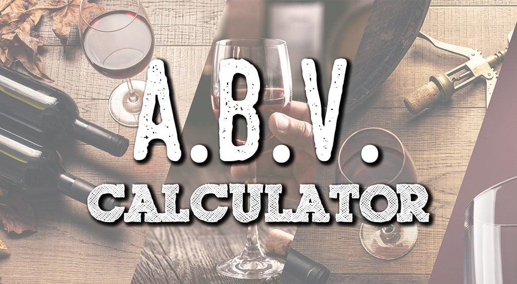 abv calculator title