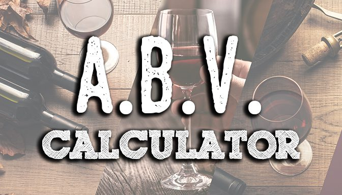 abv calculator beer wine hard kombucha